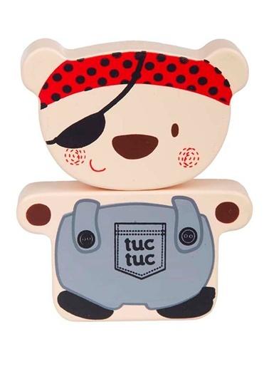 Tahta Mıknatıslı Oyuncak 2'li-Tuc Tuc